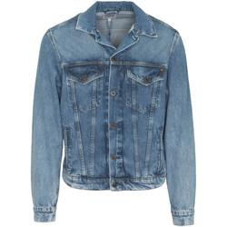 tekstylia Męskie Kurtki jeansowe Pepe jeans PM400908WG5 Niebieski