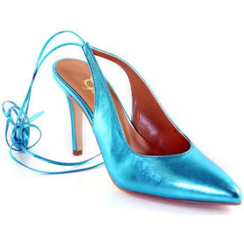 Buty Damskie Czółenka Grace Shoes 038138 Niebieski