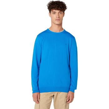 tekstylia Męskie Swetry Wrangler W8A0PDXKL Niebieski