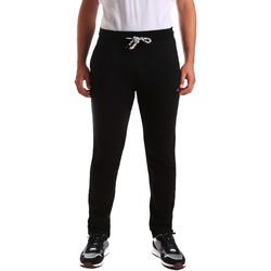 tekstylia Męskie Spodnie dresowe Key Up 2F36E 0001 Czarny