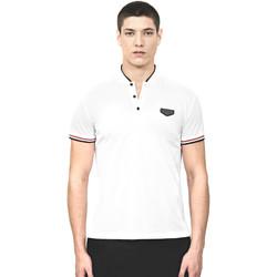 tekstylia Męskie Koszulki polo z krótkim rękawem Antony Morato MMKS01467 FA100083 Biały