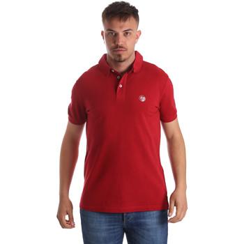 tekstylia Męskie Koszulki polo z krótkim rękawem Gaudi 911BU64063 Czerwony