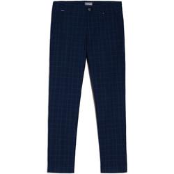 tekstylia Męskie Chinos NeroGiardini E070682U Niebieski