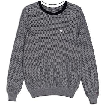 tekstylia Męskie Swetry NeroGiardini E074590U Niebieski