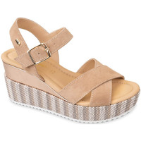 Buty Damskie Sandały Valleverde 32435 Beżowy