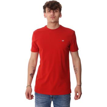 tekstylia Męskie T-shirty z krótkim rękawem Antony Morato MMKS01737 FA120022 Czerwony