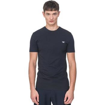 tekstylia Męskie T-shirty z krótkim rękawem Antony Morato MMKS01737 FA120022 Niebieski