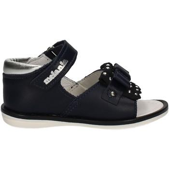 Buty Dziewczynka Sandały Melania ME8040B7E.B Niebieski