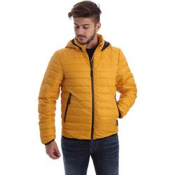 tekstylia Męskie Kurtki pikowane Byblos Blu 669501 Żółty