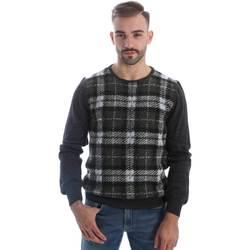 tekstylia Męskie Swetry Gaudi 62FU50157 Szary