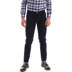 tekstylia Męskie Spodnie z pięcioma kieszeniami Sei3sei 02396 Niebieski