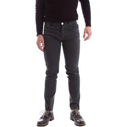 tekstylia Męskie Spodnie z pięcioma kieszeniami Sei3sei 02396 Szary