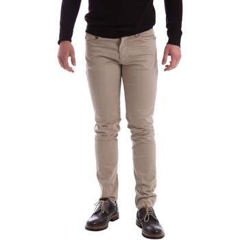 tekstylia Męskie Spodnie z pięcioma kieszeniami Sei3sei 02396 Beżowy