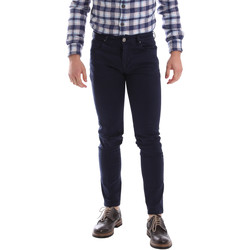 tekstylia Męskie Spodnie z pięcioma kieszeniami Sei3sei 02696 Niebieski
