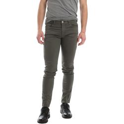 tekstylia Męskie Spodnie z pięcioma kieszeniami Sei3sei 02696 Zielony