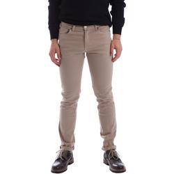 tekstylia Męskie Spodnie z pięcioma kieszeniami Sei3sei 02696 Beżowy