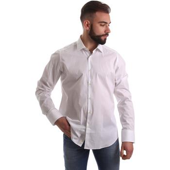 tekstylia Męskie Koszule z długim rękawem Gmf 962250/03 Biały
