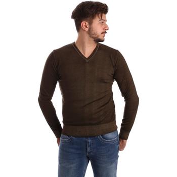 tekstylia Męskie Swetry Wool&co WO0002 Brązowy