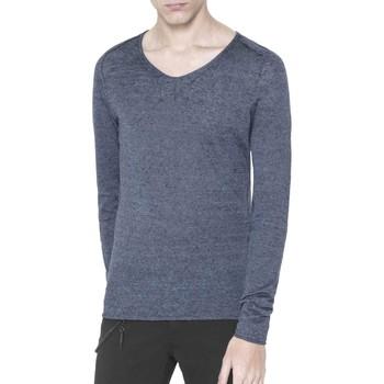 tekstylia Męskie Swetry Antony Morato MMSW00639 YA500041 Niebieski