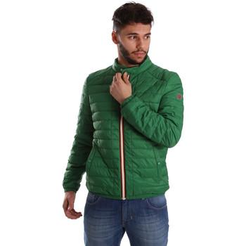 tekstylia Męskie Kurtki pikowane Gaudi 71BU35035 Zielony