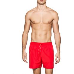 tekstylia Męskie Kostiumy / Szorty kąpielowe Calvin Klein Jeans KM0KM00041 Czerwony