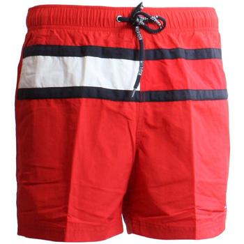 tekstylia Męskie Kostiumy / Szorty kąpielowe Tommy Hilfiger UM0UM00236 Czerwony