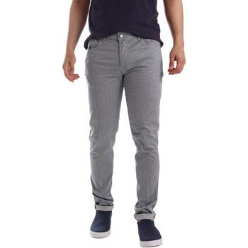 tekstylia Męskie Spodnie z pięcioma kieszeniami Sei3sei PZV17 71339 Niebieski