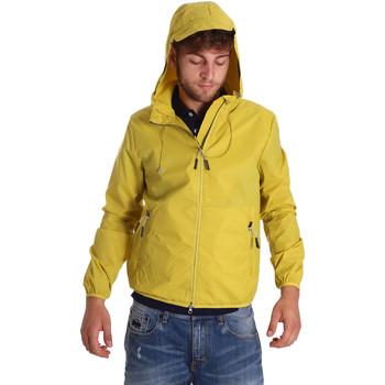 tekstylia Męskie Kurtki wiatrówki U.S Polo Assn. 38275 43429 Żółty