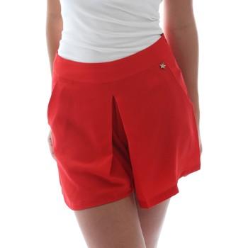 tekstylia Damskie Szorty i Bermudy Fornarina BER1L17C98176 Czerwony
