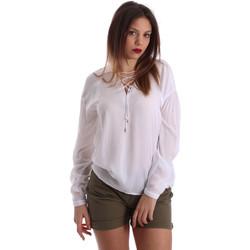 tekstylia Damskie Topy / Bluzki Gaudi 73BD47209 Biały