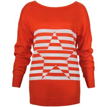 tekstylia Damskie Swetry Denny Rose 73DR15013 Pomarańczowy
