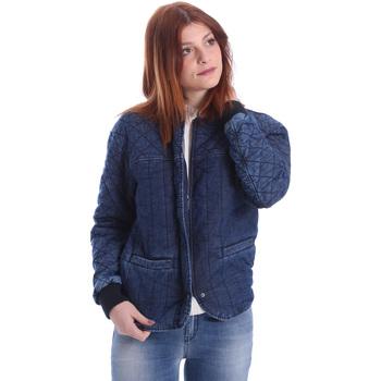 tekstylia Damskie Kurtki krótkie Gas 255425 Niebieski