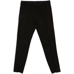 tekstylia Damskie Spodnie od garnituru  Fornarina BIF1I70L24700 Czarny