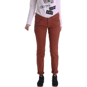 tekstylia Damskie Spodnie z pięcioma kieszeniami Fornarina BIR1G41G28050 Brązowy