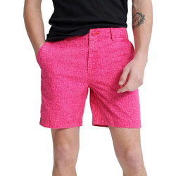 tekstylia Męskie Szorty i Bermudy Superdry M71012KT Różowy