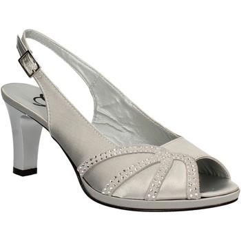 Buty Damskie Sandały Grace Shoes E7793 Szary