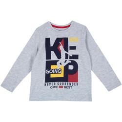 tekstylia Dziecko T-shirty z długim rękawem Chicco 09006867000000 Szary