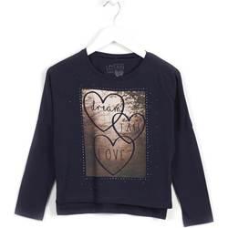 tekstylia Dziewczynka Bluzy Losan 624 1008AB Niebieski