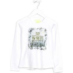 tekstylia Dziecko Swetry Losan 624 1204AB Biały