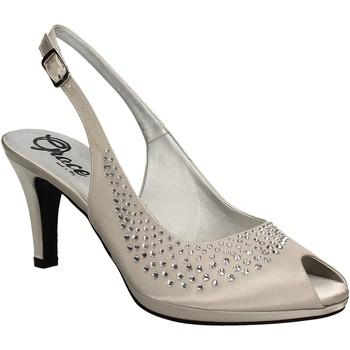 Buty Damskie Sandały Grace Shoes 3025 Szary