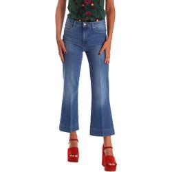 tekstylia Damskie Jeansy bootcut Wrangler W230BG39W Niebieski