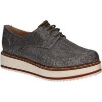 Buty Damskie Derby Exé Shoes E17007232R11 Srebro