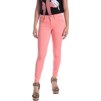 tekstylia Damskie Jeansy skinny Fornarina BE171L46D86868 Różowy