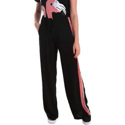 tekstylia Damskie Spodnie dresowe Fornarina BE171L97C99700 Czarny