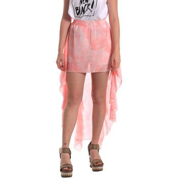 tekstylia Damskie Spódnice Fornarina BE172C07CA11C5 Różowy