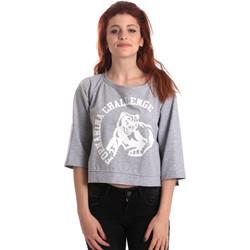 tekstylia Damskie Bluzy Fornarina BE176841F42706 Szary