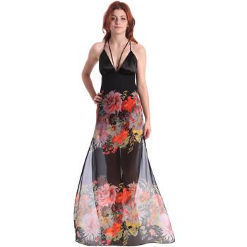 tekstylia Damskie Sukienki długie Fornarina BE178D67CA0700 Czarny