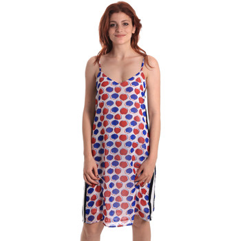 tekstylia Damskie Sukienki krótkie Fornarina BE178D82CA0676 Biały
