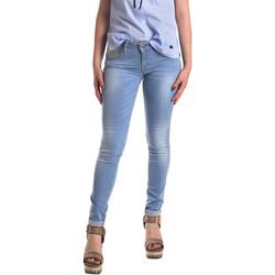 tekstylia Damskie Jeansy skinny Fornarina BER1H37D709R60 Niebieski