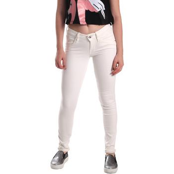 tekstylia Damskie Jeansy skinny Fornarina BER1H37D73409S Biały